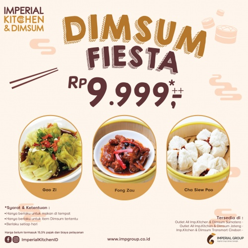 Imperial Kitchen & Dimsum Green Pramuka Square
